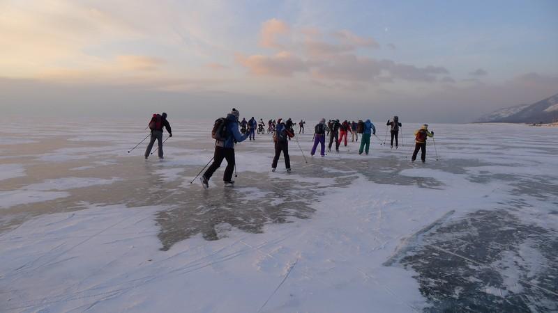 Ультрамарафон «Ледовый шторм» пройдёт на Байкале в середине февраля (видео)