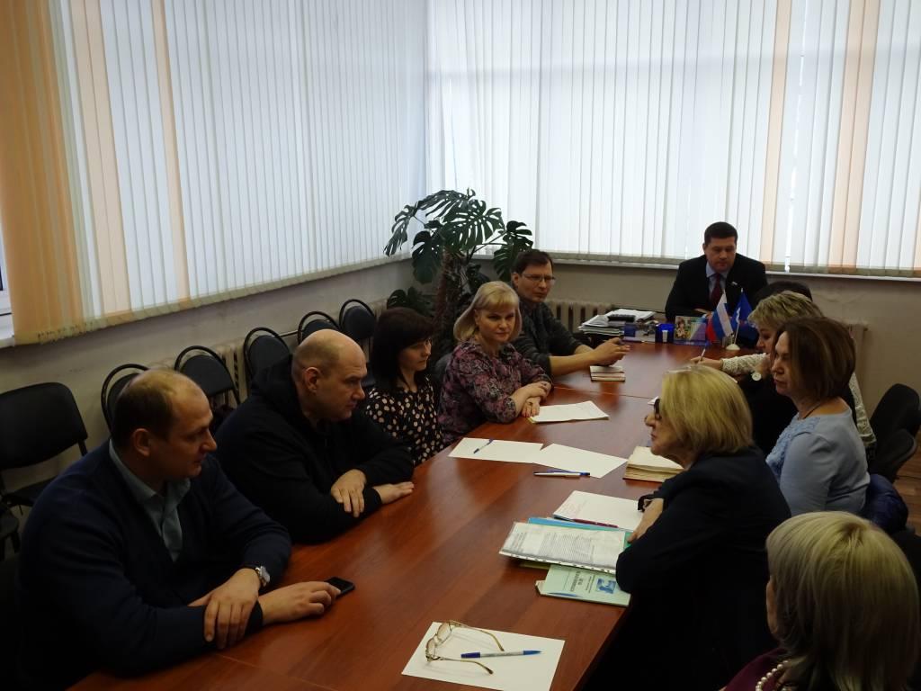 В Братске состоялось заседание Общественного совета проекта «Культура малой Родины»