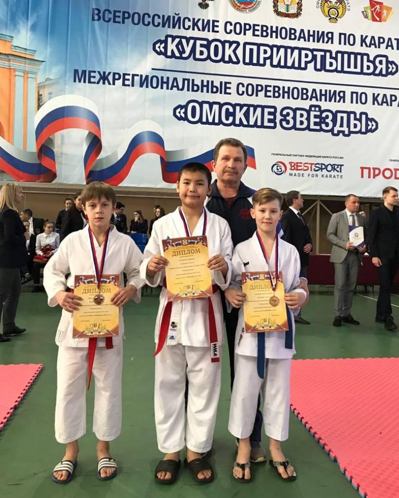 Братские каратисты завоевали комплект медалей на всероссийских соревнованиях