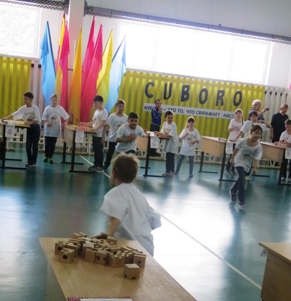 Юные чемпионы по конструированию CUBORO живут в Киренском районе (фото)