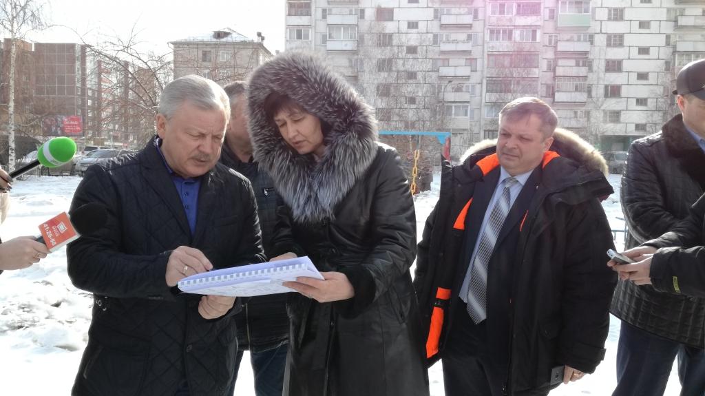 На благоустройство сквера 45 квартала в Братске направят 30 миллионов рублей (фото)