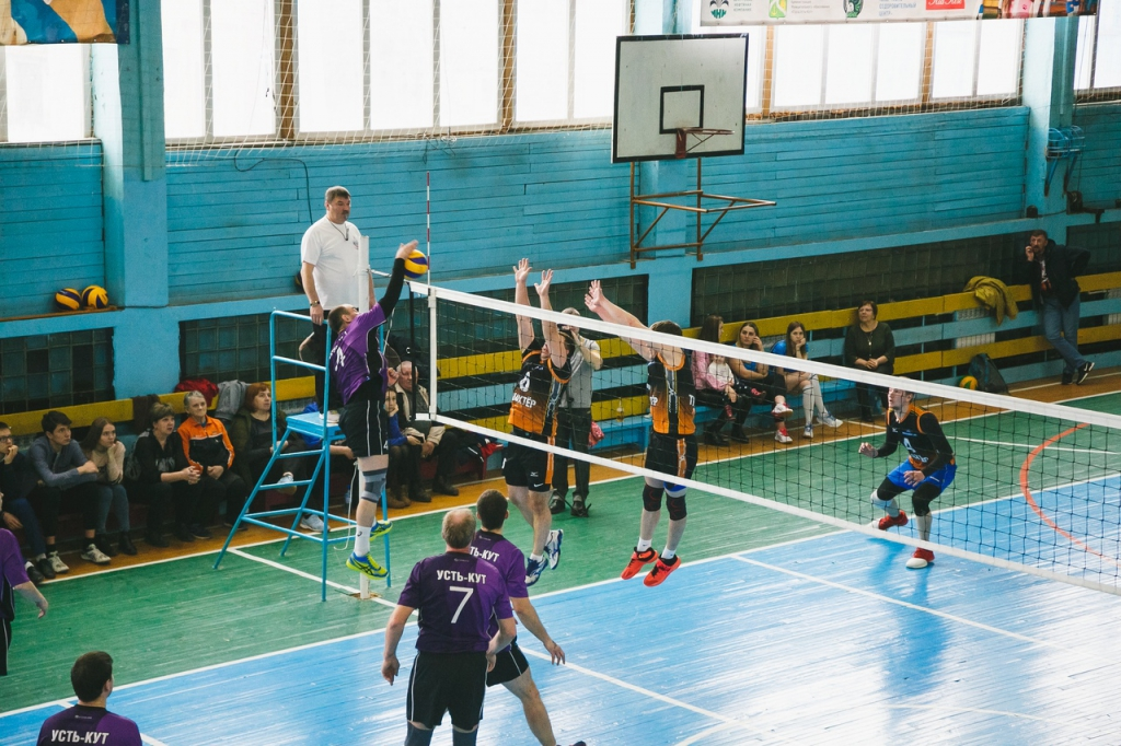 Праздник волейбола прошел в Усть-Куте