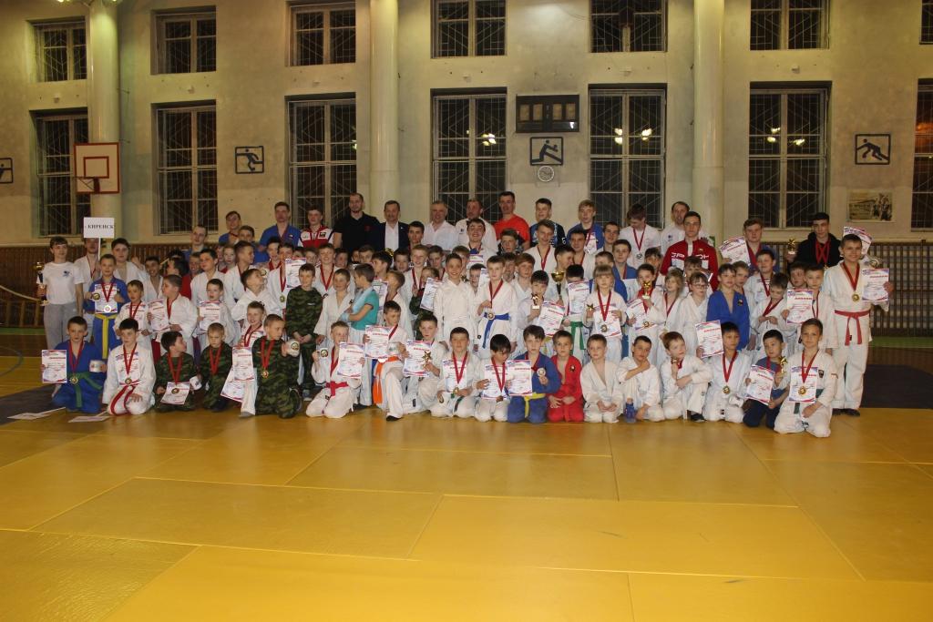 В Киренске прошел межрайонный турнир по рукопашному бою (фото)