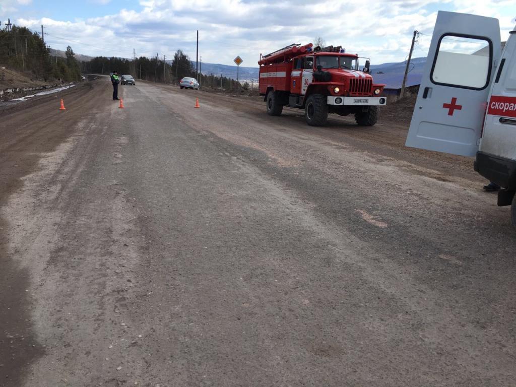 На объездной дороге авария: машина загорелась, внутри пассажиры…Проверка пройдена успешно! (фото)