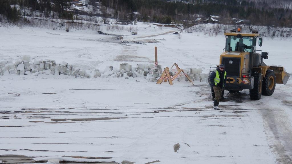 В Бодайбинском районе закрыта очередная ледовая переправа