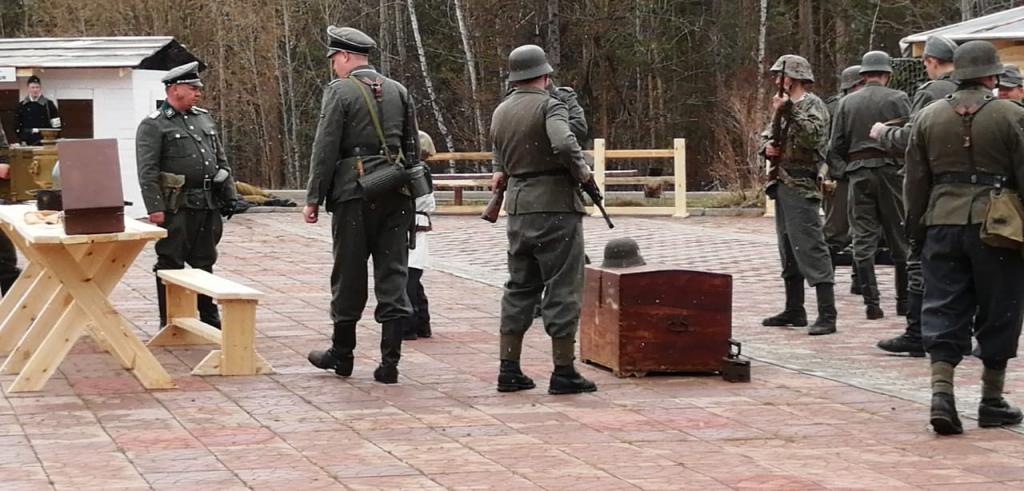 Как это было. 9 мая в Усть-Илимске состоялась историческая реконструкция боевых действий (фото, видео)