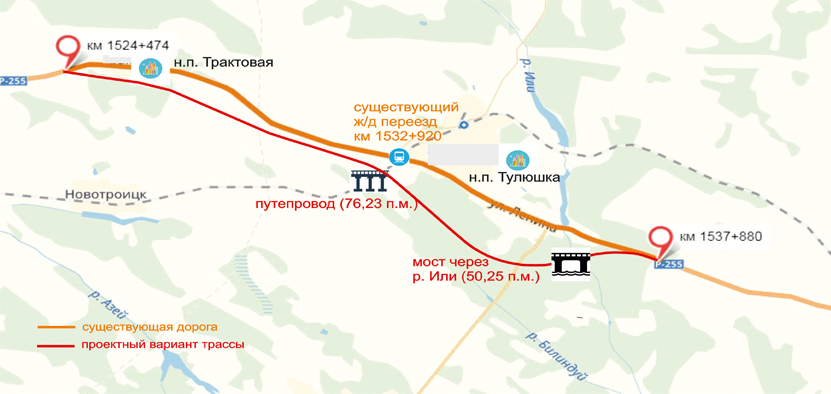 Новая дорога обойдет Тулюшку и Трактовую. В июле определят подрядчиков для ее строительства
