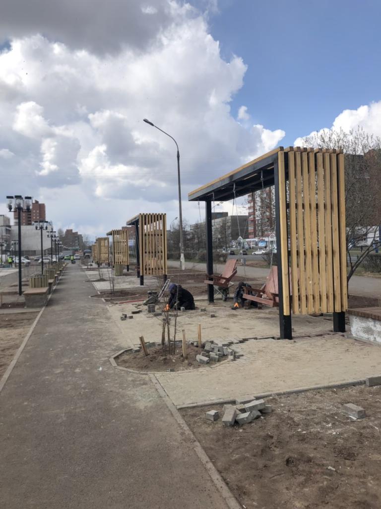 """На подрядчика, выполнявшего благоустройство в сквере """"Ангарские каскады"""" в центре Братска, подали в суд"""