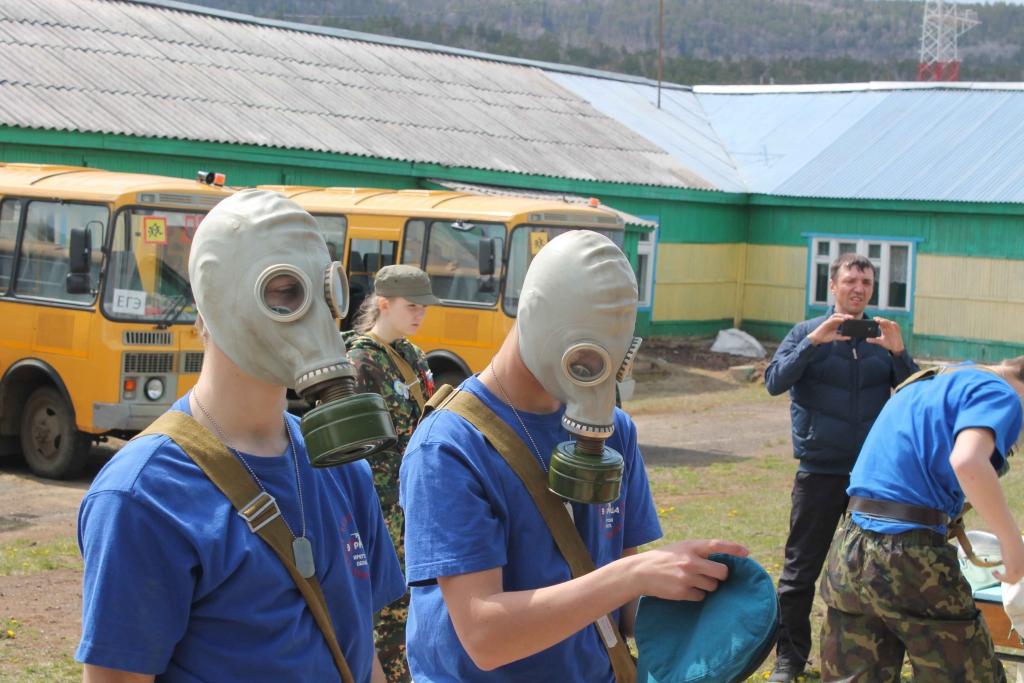 Они собирают автомат, стреляют и чеканят шаг не хуже настоящих военных. В Усть-Илимском районе прошла игра «Зарница» (фото)