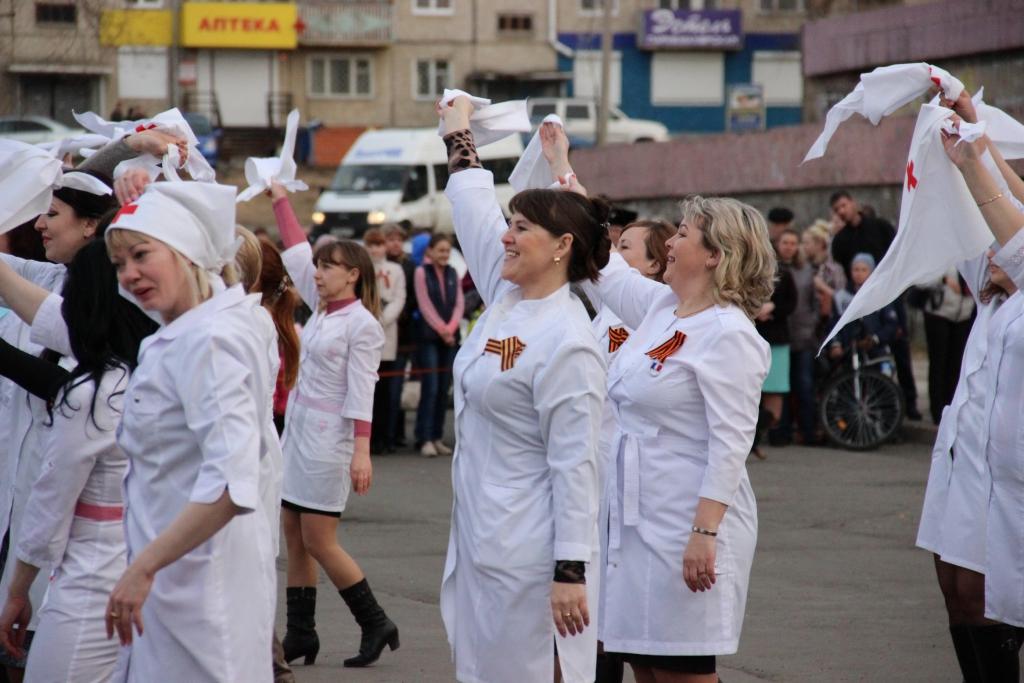 Победный вальс. Усть-Илимск готовится к большому танцевальному флешмобу (фото)