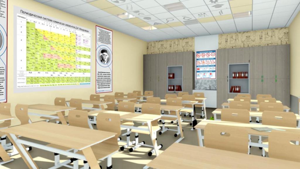 Точные науки в приоритете. В 41-й школе Братска осенью откроют современные классы физики, химии и математики