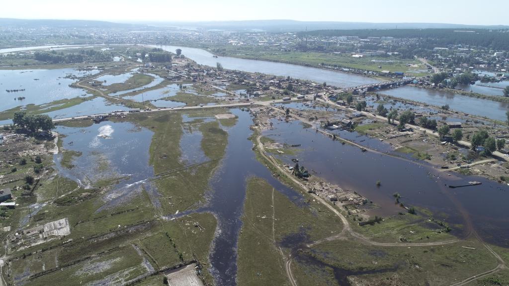МЧС: в Приангарье остаются подтопленными два населенных пункта