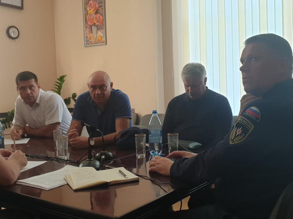 Андрей Чернышев принимает участие в работе правительственной комиссии по ликвидации последствий наводнения в Приангарье
