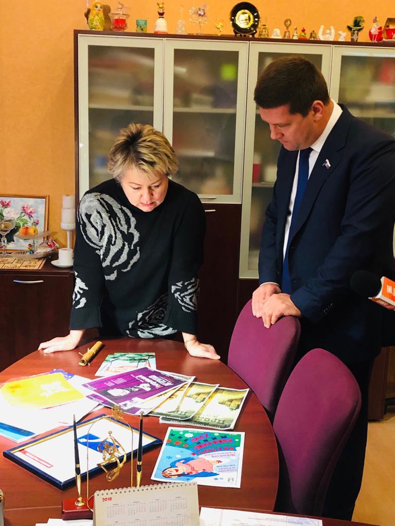 Андрей Чернышев: поддержка социальной сферы – в приоритете!