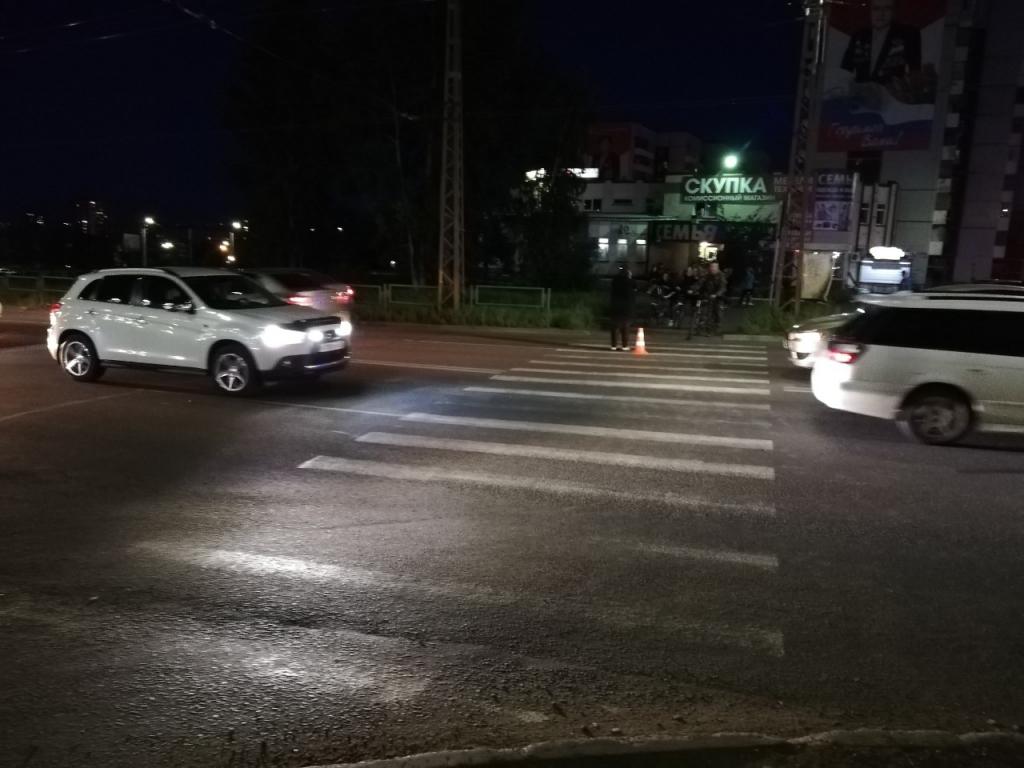 Два человека пострадали на пешеходных переходах в Братске (фото)