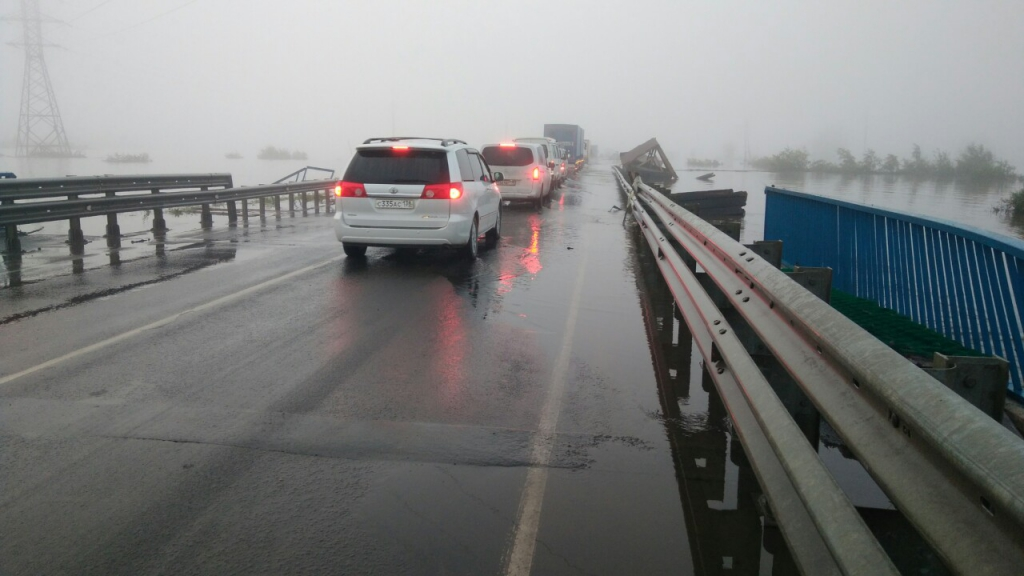 Движение автотранспорта через Тулун открыто