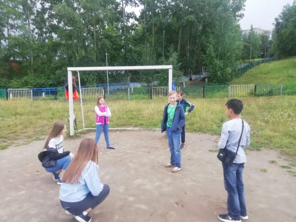 Подвижное лето. В Усть-Илимске завершился проект «Выходи играть во двор» (фото)