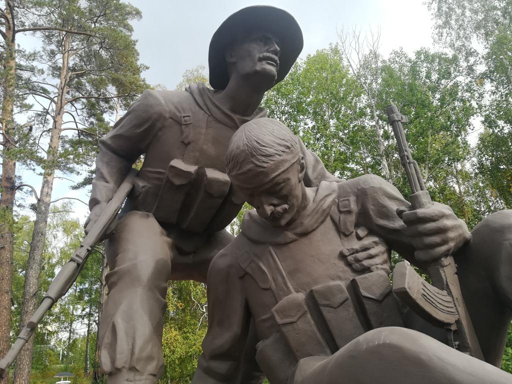 Без объявления войны... В Братске установили памятник погибшим  воинам-интернационалистам