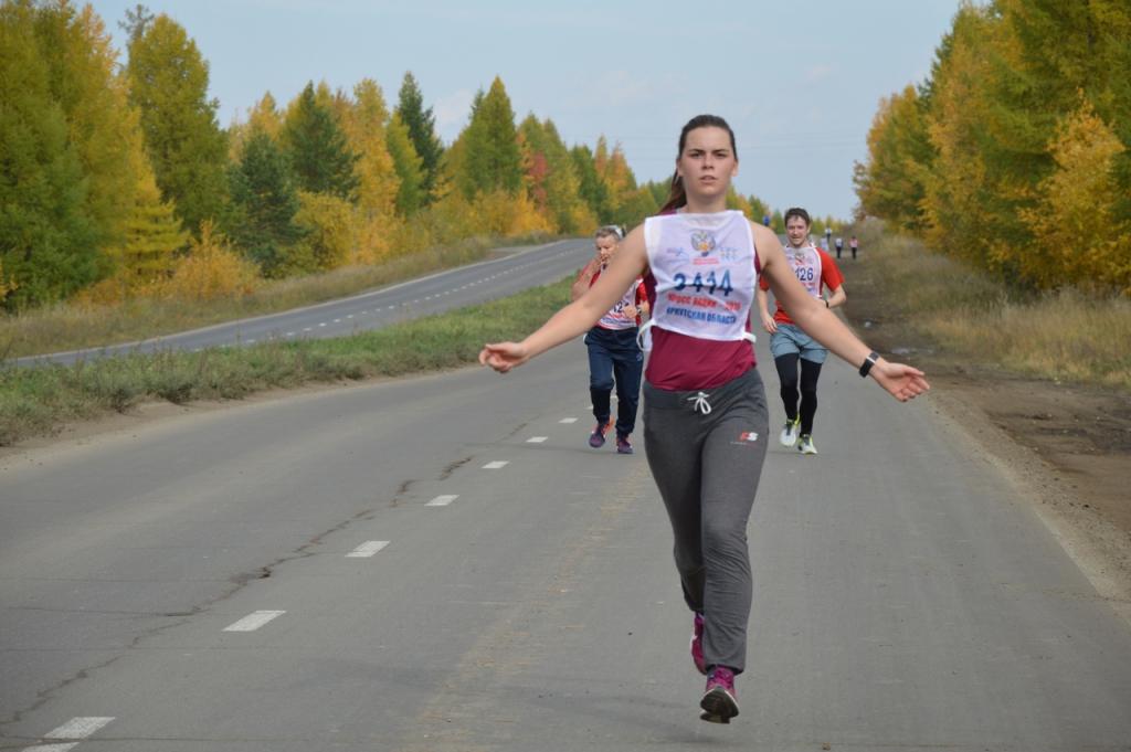 Быстрее ветра! Усть-Илимск вместе со всей страной принял участие в «Кроссе нации» (фото)