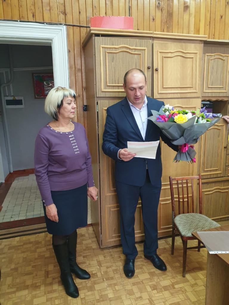 Андрей Чернышев направил поздравление директору Досугового Центра «Современник» Светлане Новиковой