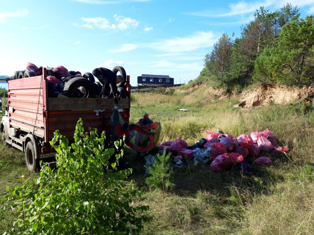 Пришел. Очистил. Победил! В Усть-Илимске прошла экологическая акция «Чистые игры» (фото)