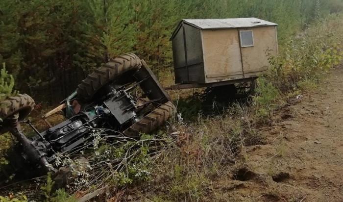 Трагедия на дороге. В Усть-Илимском районе погиб водитель самодельного трактора