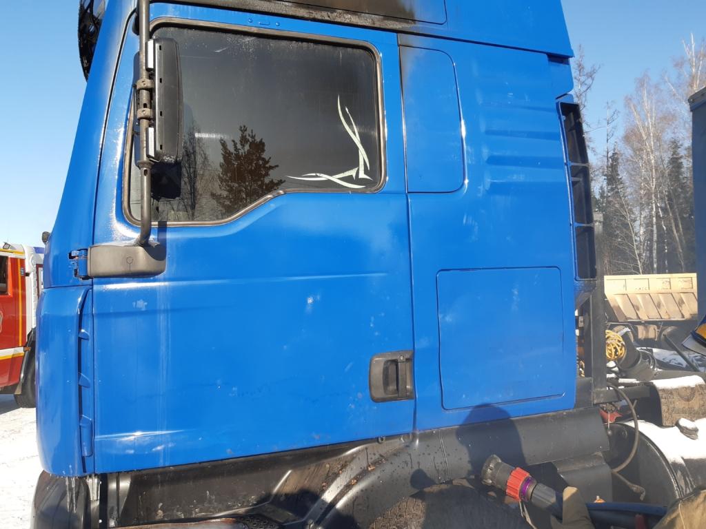 В Усть-Илимске горел грузовик «Tatra»