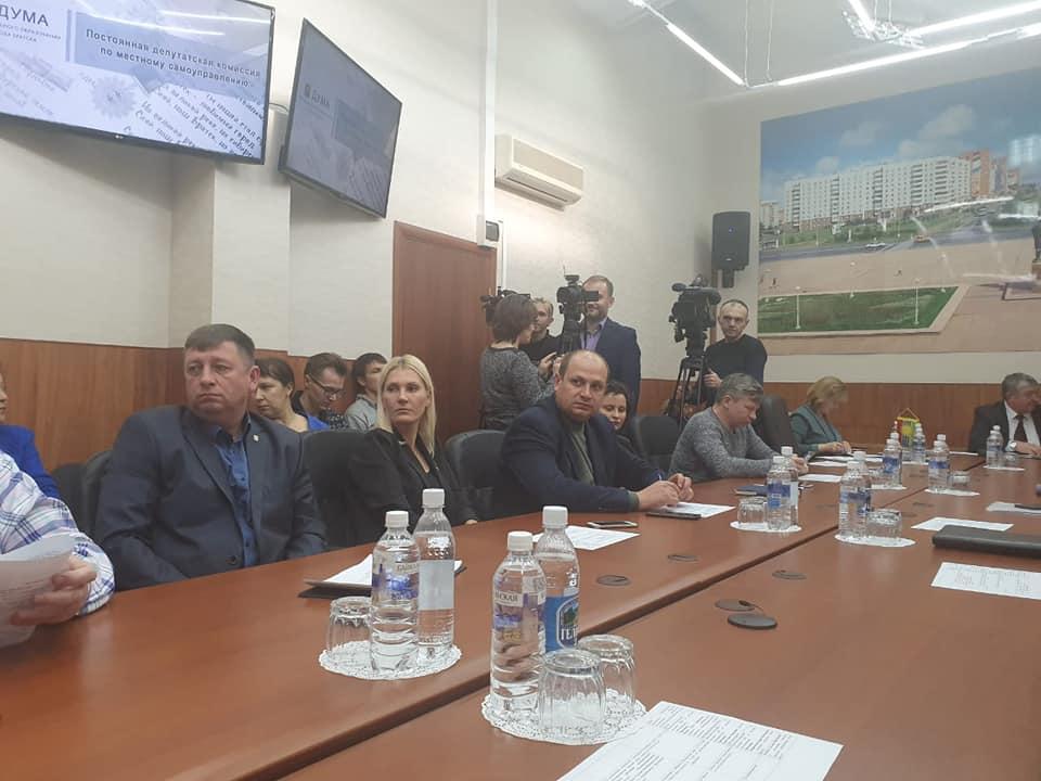В Думе Братска состоялось первое заседание депутатской комиссии по местному самоуправлению