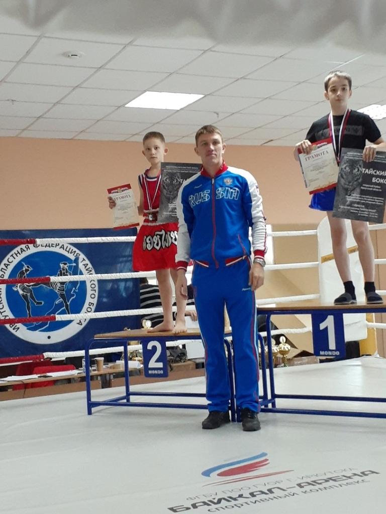 Сила удара. Братские спортсмены привезли две золотые медали с Открытого Кубка Иркутской области по тайскому боксу