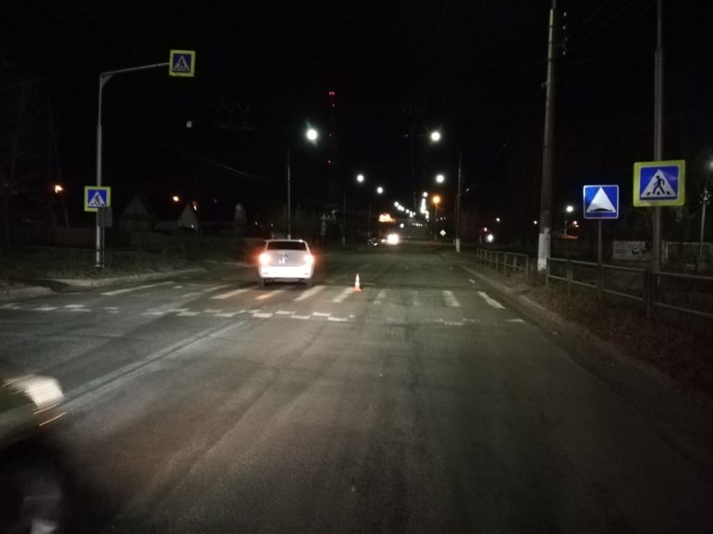 Ночь. Улица. Дорога. ДТП в Братске