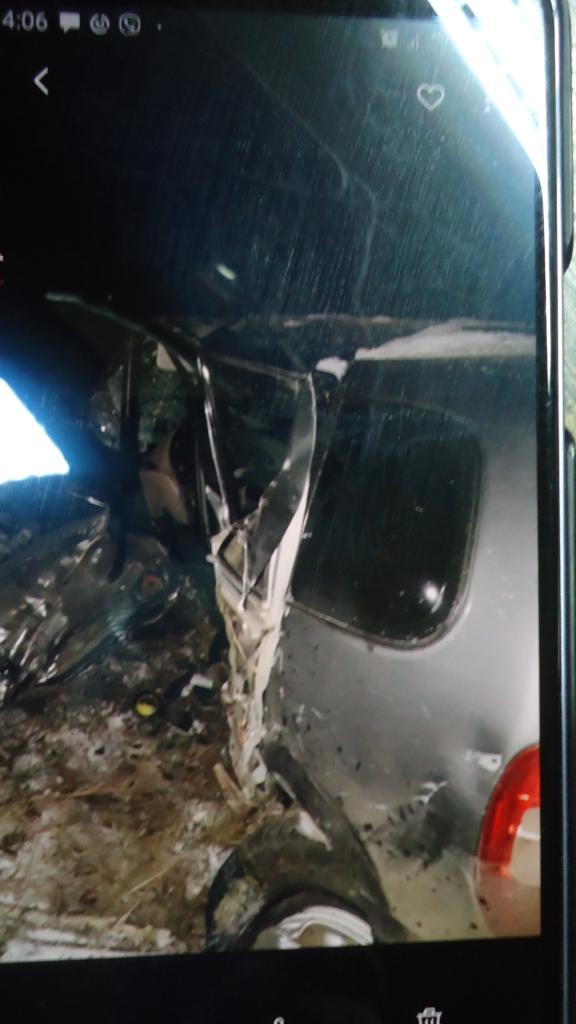 Лобовое столкновение. Водитель Нивы погиб в ДТП, потому что другой водитель был нетрезв (фото)