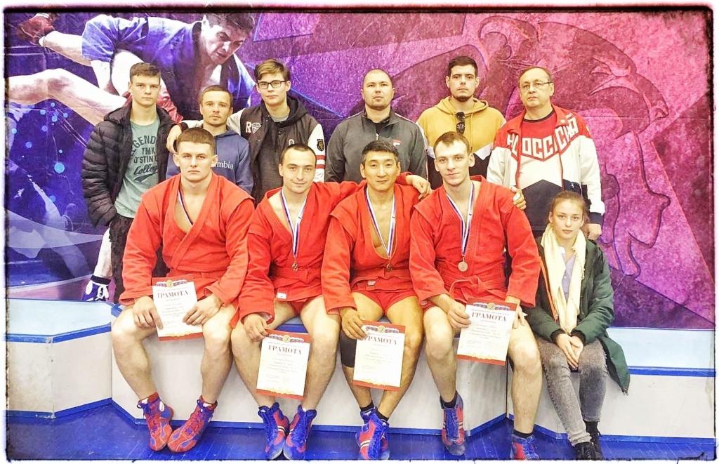 Братские спортсмены успешно выступили на чемпионате и первенстве Иркутской области по спортивному и боевому самбо