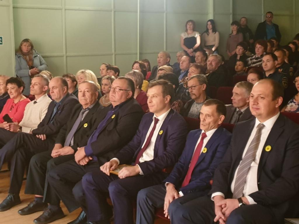 Андрей Чернышев поздравил с юбилеем Балаганского района его жителей