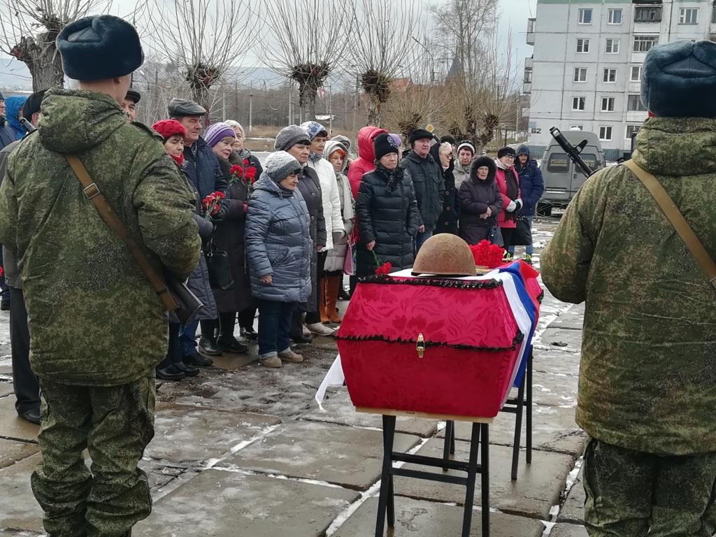 Солдат вернулся. В Братске простились с героем Великой Отечественной войны, который пропал в 1944 году (фото)