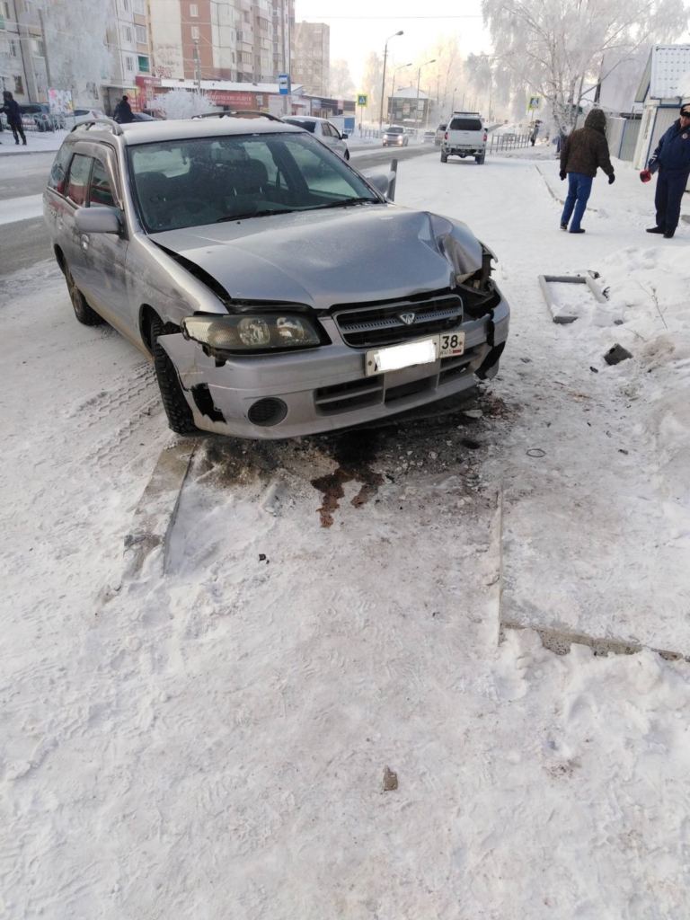 Один день - три аварии. Полиция Братска выясняет причины ДТП, которые случились в субботу