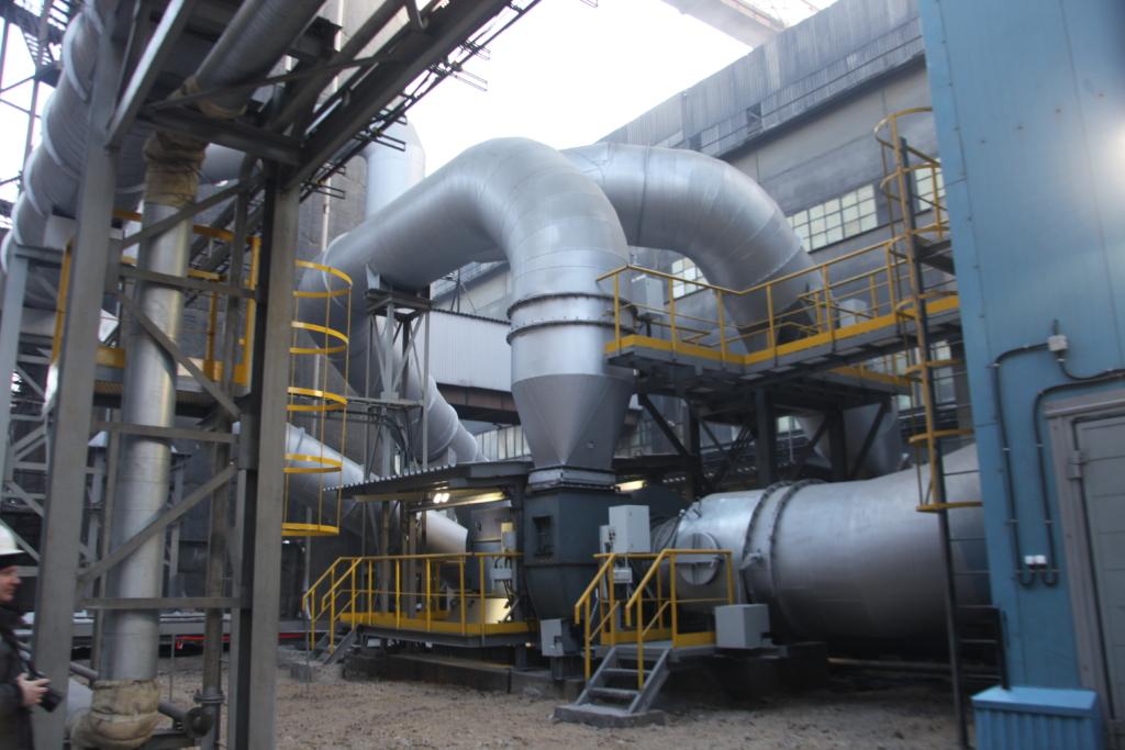 На БрАЗе запустили третью в этом году высокоэффективную газоочистку