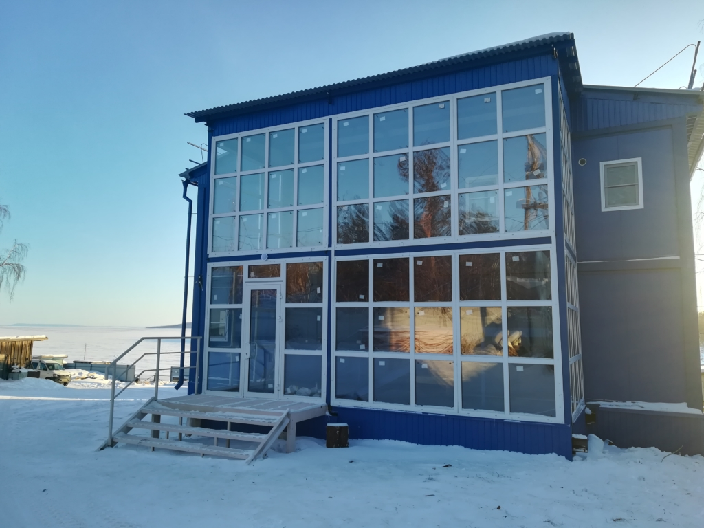 Спасатели переезжают. В Братске для Северо-западного поисково-спасательного отряда  построили новое здание