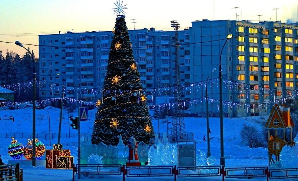 По просьбам жителей. Снежные городки Усть-Илимска будут открыты до конца февраля