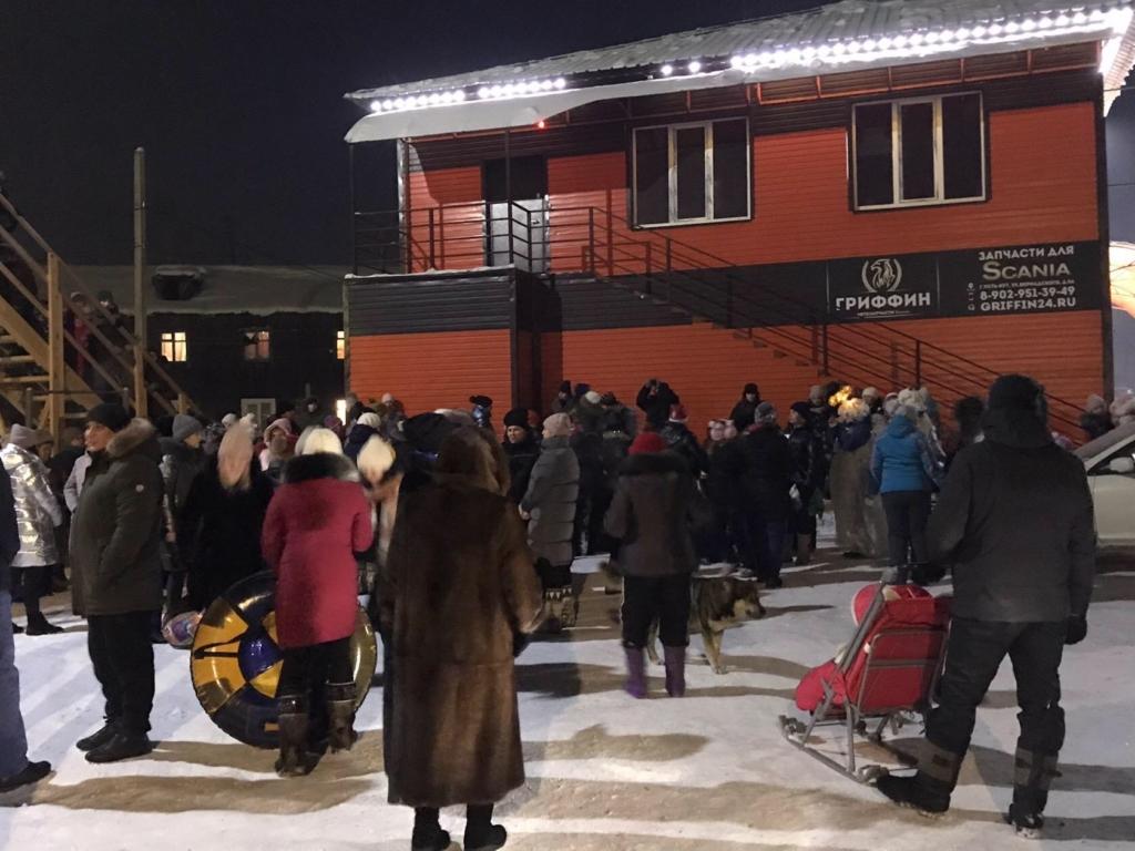 Рождественские народные гуляния в Усть-Куте