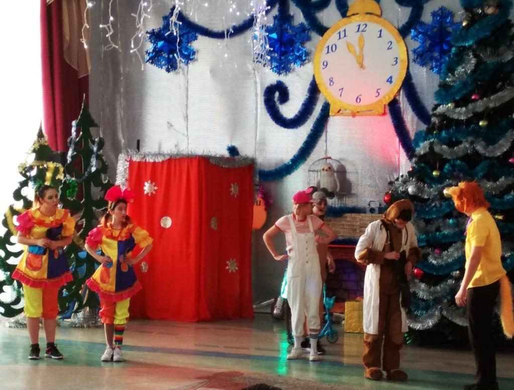 Череда новогодних мероприятий в Усть-Куте