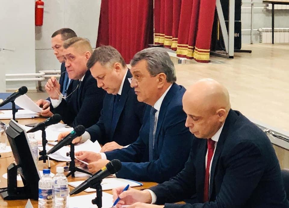 Андрей Чернышев принял участие в собрании Ассоциации муниципальных образований Иркутской области
