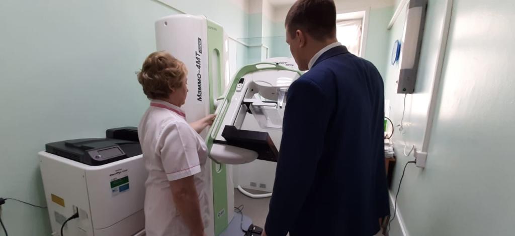 Новый маммограф. В Усть-Илимске городская поликлиника пополнилась цифровым медицинским оборудованием