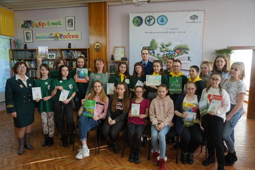 Сохраним лес живым! Школьники Усть-Илимска приняли участие в экологической викторине