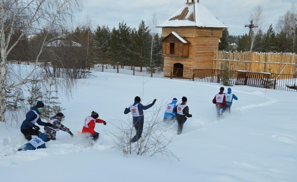Снегобег-2020. В Усть-Илимске прошли необычные соревнования, ставшие уже традиционными (фото)