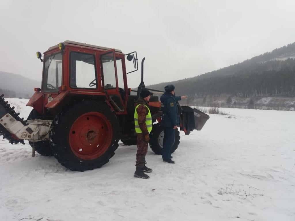 Опасный лед. Установившаяся в Приангарье теплая погода внесла свои коррективы в сроки вскрытия рек
