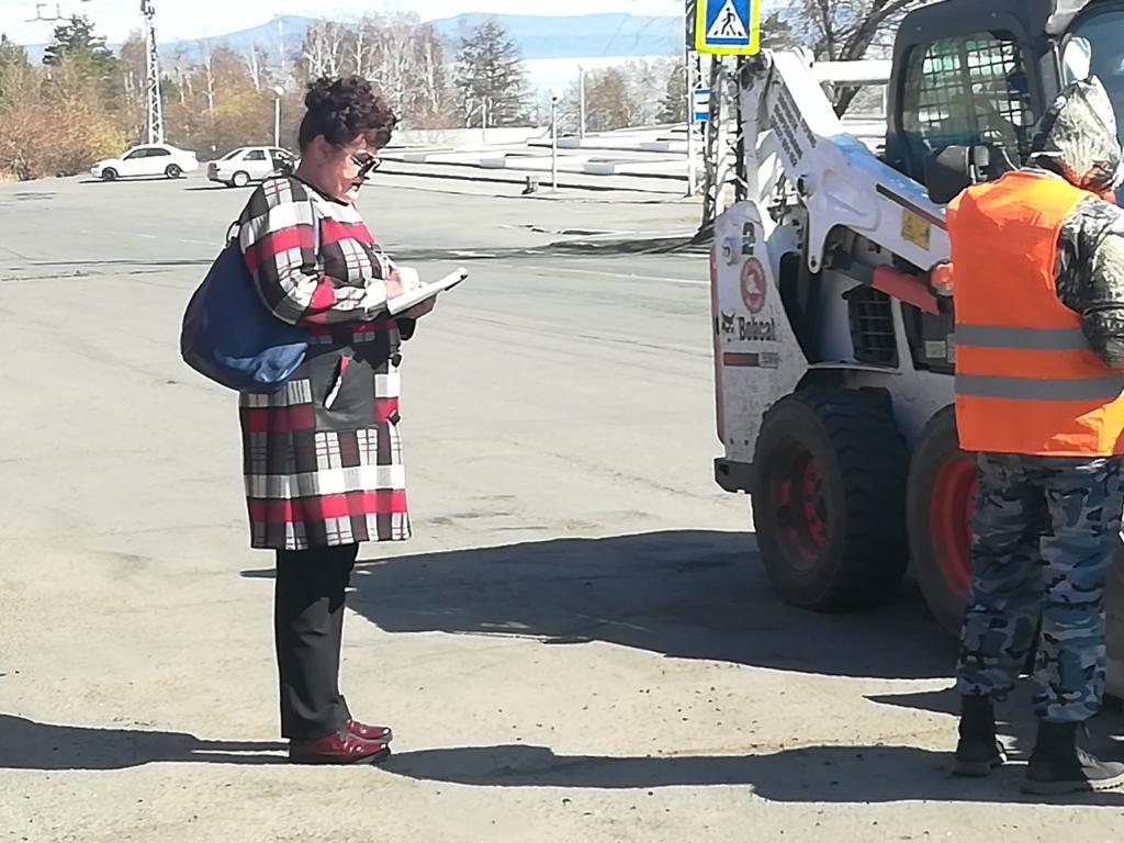 В Братске подрядчик приступил к текущему ремонту дорог