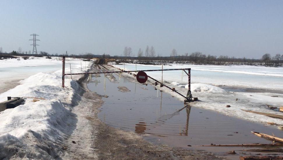 На севере Приангарья продолжается закрытие ледовых переправ