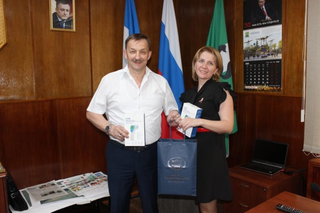 Андрей Чернышев: Мы передали бесконтактные термометры в 14 муниципалитетов Иркутской области