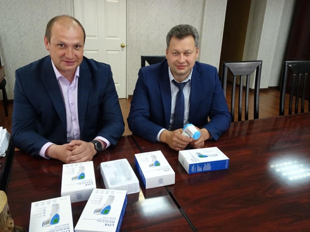 «Сибирский Характер» - Усть-Илимску. В город и район доставили партию бесконтактных термометров