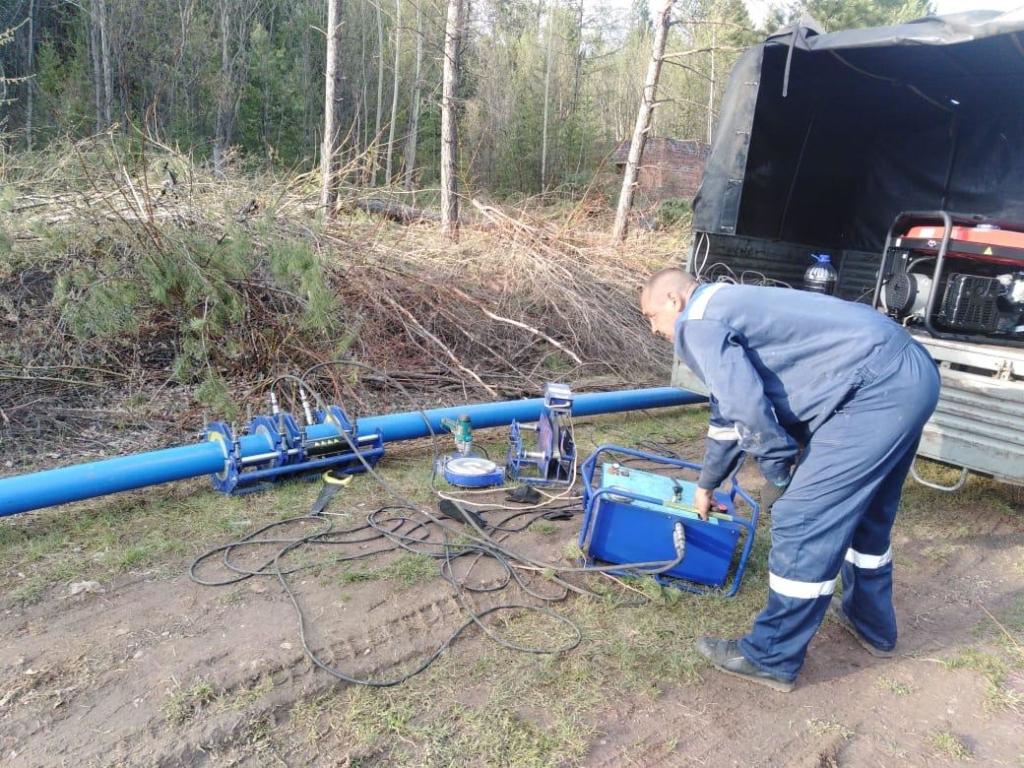 Сдвинуть с мертвой точки. В Усть-Куте началось строительство водовода в микрорайоне, где на протяжении долгих лет не было питьевой воды